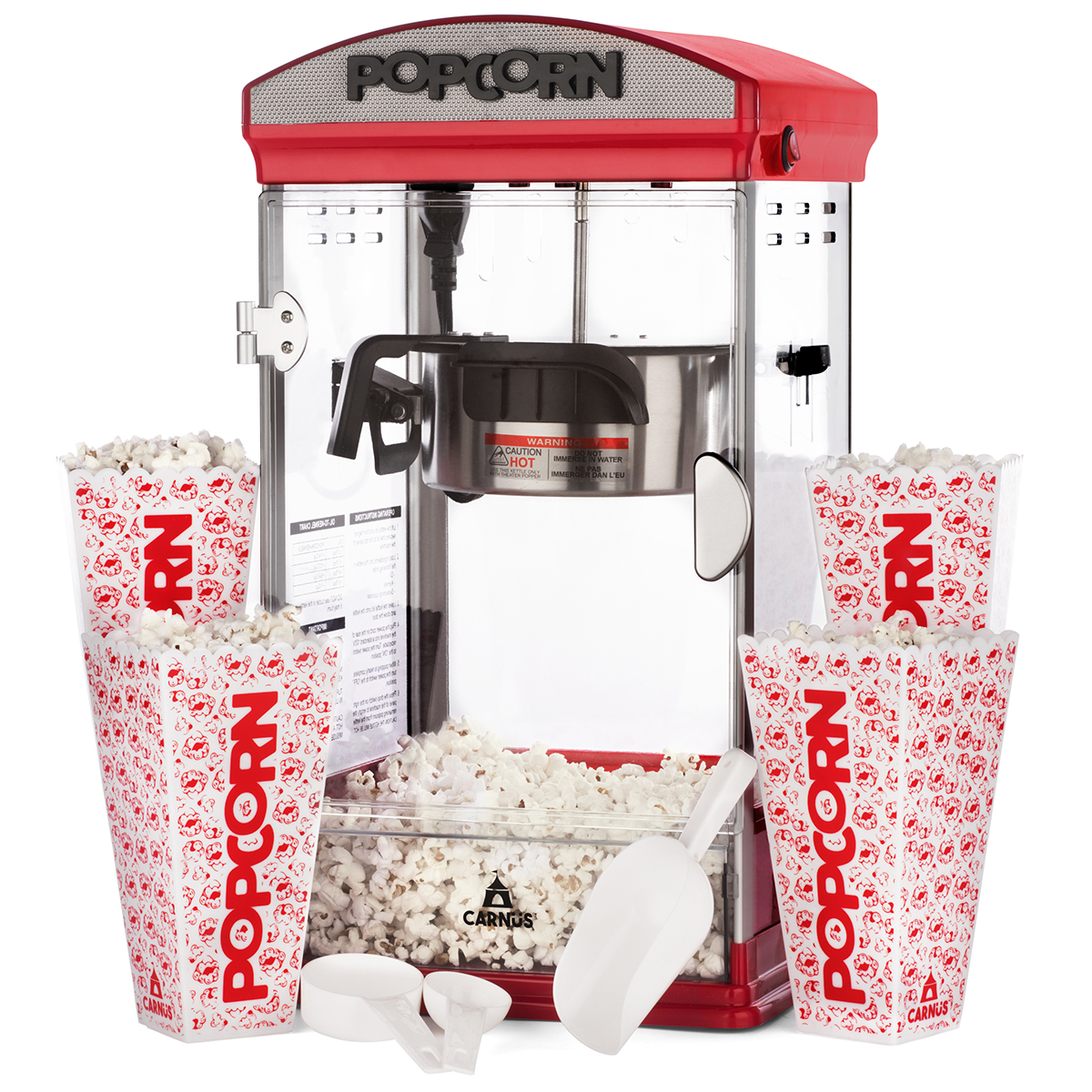 Carnus Popcorn Maker Carnus Premium Cotton Candy Products